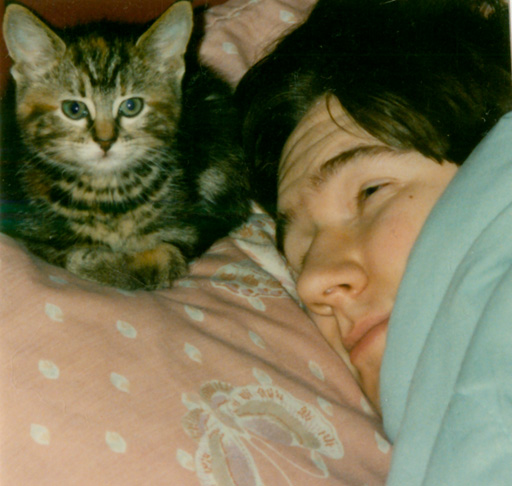 Nikki in 1994