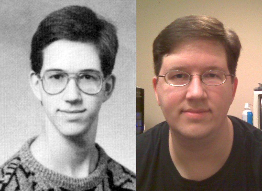 Jim, seperated by 20 years